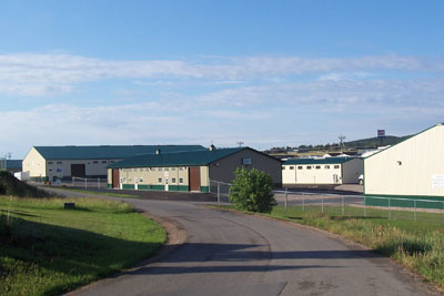 Quaal Business Park, over 100,000 SF of Michels Buildings