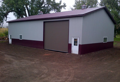 A picture of 44x64-17 Pole Shed
