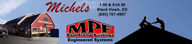 Michael's Post Frame Buildings Banner